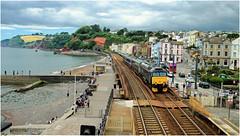 Next Stop Dawlish (Welsh Gold) Tags: st plymouth devon exeter service davids dawlish 57603 2e75