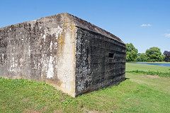 Pill box (jimj0will) Tags: homeguard defence defense army protection concrete defended historic ww2 texture audleyend englishheritage wartime dadsarmy