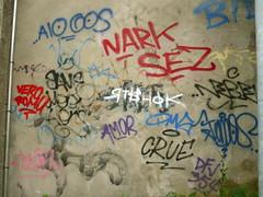 Tags (25) (Coperni Kadon) Tags: gipsy 3000 g tags tag graffiti can cans crue amor nark sez vero puc aio rtshok alors same ea