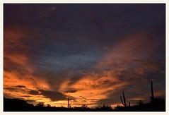 Sonoran Desert Sunset (gauchocat) Tags: tucsonmountains tucsonarizona