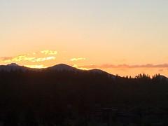 Central Oregon Sunset, Bend, Oregon (Nancy D. Brown) Tags: centraloregon bend oregon sunset cascademountainrange tetherow