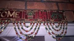 Swastika in the entrance (ShaluSharmaBihar) Tags: swastika hindu hindustani religion hinduism hindus india symbols