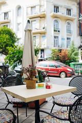 Thessaloniki (trinidalitism) Tags: canon canoneos6d sigma thessaloniki greece travel traveling city cityscenes caffe table street urban detail beauty summer town urbanexploration urbanfragments