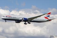 British Airways --- Boeing 787-9 Dreamliner --- G-ZBKI (Drinu C) Tags: adrianciliaphotography sony dsc hx100v lhr egll plane aircraft aviation britishairways 787 boeing 7879 dreamliner gzbki