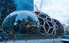 Amazon's Latest Building (Backpacking With Bacon) Tags: building amazon seattle downtown
