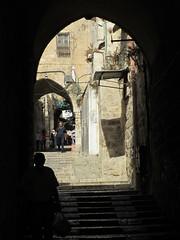 Arches and steps, Jerusalem (Paul McClure DC) Tags: architecture israel jerusalem historic holyland oldcity nov2012