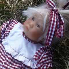 Kleines Lieschen (astrosnik) Tags: baby square doll artist vinyl squareformat annette kleine kleines lieschen himstedt annettehimstedt iphoneography instagramapp uploaded:by=instagram