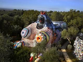 Niki de Saint Phalle - The Empress, Tarot Garden, Italy