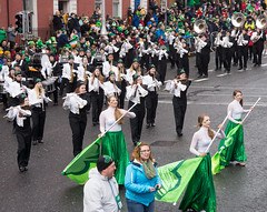 COLUMBUS EAST HIGH SCHOOL OLYMPIAN SPIRIT MARCHING BAND AT THE 2015 ST. PATRICK'S PARADE IN DUBLIN REF-102197 (infomatique) Tags: band parade marching stpatrick stpatricksdayparade stpatricksfestival 2015 williammurphy streetsofdublin infomatique olympianspirit columbuseasthighschool paddysparade2015infomatique zozimuz paddy2015infomat