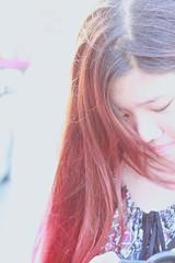IMG_6738 (tranmyanh) Tags: me closeup vietnam hanoi redhair dontcare