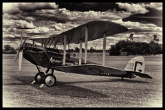 De Havilland DH.51 - 8 (mod) (NickJ 1972) Tags: wings aviation wheels moth collection airshow shuttleworth dehavilland 2014 wingsandwheels oldwarden misskenya dh51 gebir