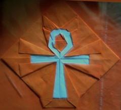 Origami Ankh  - Hadi Tahir (haditahir) Tags: ancient origami symbol egypt ankh kuno mesir