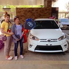 ยินดีต้อนรับ...สู่ครอบครัวโตโยต้า #TOYOTA เติมความสุข ทุกสัมผัส การส่งมอบรถยนต์ใหม่ #YARIS #TRD #Sportivo ผู้ครอบครอง คุณลมเชย ด้วงสุวรรณ ขอบคุณ...ในความไว้วางใจ ** โปรดตรวจสอบราคา / โปรโมชั่น LINE User ID akkarawat_u | โทรศัพท์ 081-036-3991 #TOYOTA ขับเค