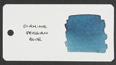 Diamine Prussian Blue - Word Card