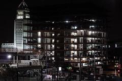 2nd (annz0r) Tags: urban night la losangeles construction hill 2nd downtownla dtla