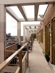 balcony (Judy **) Tags: building lines leiden vanishingpoint flat balcony balkon huis gebouw lijnen 2015 30daysinapril