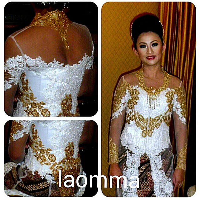 laomma design; Bandung - Indonesia LINE: laomma,  BLACKBERRY PIN 7DF89150 WHATSAPP : (+62) 089624641747  #Bandung #Indonesia #adibusana #kebaya #kebayaindonesia #kebayamodifikasi #weddingkebaya #weddingdress #weddingplanner #weddingorganizer #weddingconce