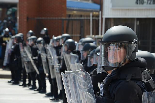 Baltimore Riot - W. North and Pennsylvania Avenues - April 28, 2015     (22)