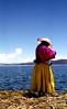 Lake Titicaca (VERY GIORGIOUS) Tags: travelling peru laketiticaca latinamerica southamerica lomo xpro crossprocessed travels canonae1 floatingisland