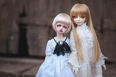 Delphine and Mary-Elizabeth (T e s l a) Tags: dim bellosse