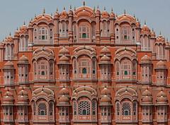Hawa Mahal (vil.sandi) Tags: jaipur hawamahal palaceofthewinds 1799 palastderwinde redandpinksandstone