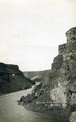 [IDAHO-B-0163] Snake River - Shoshone Falls (waterarchives) Tags: idaho snakeriver river realphotopostcardrppc shoshonefalls falls