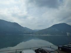 Lake Lugano in Italy (ell brown) Tags: trees italy mountain lake mountains tree switzerland ticino coach italia lombardia lombardy oria lakelugano glaciallake lagodilugano italianlakedistrict ss340 galleriaalbogasio