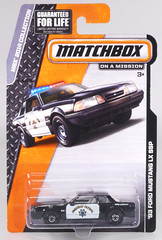 MBL-969-Mustang-Highway-Patrol (adrianz toyz) Tags: matchbox model toy car police 1993 ford mustang lx ssp highway patrol 969 adrianztoyz diecast scale