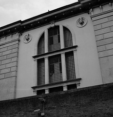 Prisoners, Venice, Italy (austin granger) Tags: venice italy film square bars cell crime jail lions punishment prisoners inmates gf670