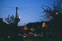 Grangehill Road Northwards at Dusk (Matthew Huntbach) Tags: dusk eltham se9 grangehillroad