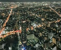 Osaka night photography (shinichiro*) Tags:    jp 20160623img4776 2016 crazyshin appleiphone6plus iphone osaka  june summer night