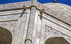Taj Mahal 148 (David OMalley) Tags: world india heritage river site tomb taj mahal agra unesco mausoleum shah pradesh uttar jahan mughal mumtaz yamuna