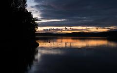 August Nights Are the Best (@Tuomo) Tags: finland summer august päijänne lake kärkinen korpilahti nikon df nikkor 2470mm landscape seascape sunset night