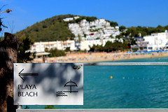 To The Beach (dale.kirkwood) Tags: ibiza travel canon balearic balearicislands calallonga summer beach playa water