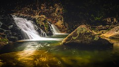 Cascades (Augmented Reality Images (Getty Contributor)) Tags: australia canon ferns finchhattengorge landscape leefilters longexposure nature queensland rainforest rocks swimminghole trees water waterfalls
