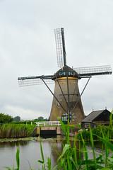Big wheel keep on turnin' (patentboy) Tags: windmill canal thenetherlands polder kinderdijk molen