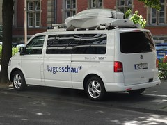 """Volkswagen Caravelle """"Tagesschau"""" (harry_nl) Tags: germany volkswagen deutschland kln ard caravelle tagesschau 2016 wdr"""
