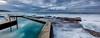 Pool line (FPL_2015) Tags: leefilter gnd09 canon1635f4lis canon6d landscape southcurlcurl northernbeaches sydney australia sunrise pool rocks ocean water seascape