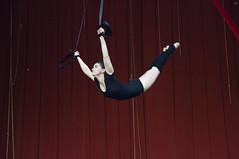 Anastasia Sychova (Jul Chitay) Tags: aerial aerialist sport dance flexibility aerialarts arts high aerials woman girl straps aerialstraps red black strog power drop aerialdrop gymnastics acrobatic