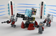 Turret (MaverickDengo) Tags: space lego moc futuristic military defenses infantry alien ldd digital designer