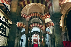 Mosque-Cathedral of Cordoba - Spain (betinho_had) Tags: world trip travel espaa building travelling church beautiful arquitetura architecture digital canon photography spain espanha religion catedral mosque igreja viagem eurotrip prdio andalusia crdoba turismo aventura worldtrip worldtravel aroundtheworld mesquita isl beautifulplaces mochileiros travelspain