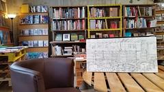 Niort, Librairie des Halles (Croctoo) Tags: croctoo croctoofr croquis crayon librairie niort poitou poitoucharentes