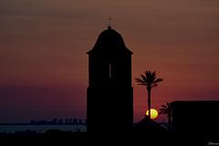 San Gines (juliosabinagolf.) Tags: nikon nikkor sunset amanecer comunidadespaola d3300 sol sun serenidad monasterio sanginesdelajara
