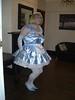 CIMG6770 (sissybarbie1066) Tags: baby satin sissy maid uniform blue curtsey sissymaid