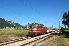 In the Northwest (Krali Mirko) Tags: bdz train electric locomotive skoda 68e3 44 111 44111 vratsa bulgaria transport