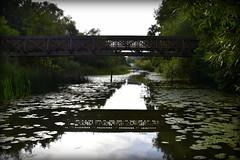 Under the bridge. (Papa Razzi1) Tags: 7617 2016 218365 august summer crayfishparty bridge under canal stockholm sweden