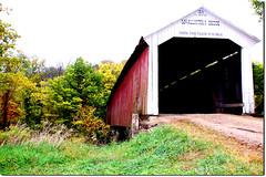 covered bridge (Rene' Slack) Tags: coveredbridge kentucky indiana family trip slackadventure shiraz