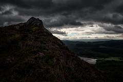 Ben A'an (gallowaydavid) Tags: benaan trossachs mountain summit heather loch clouds scotland