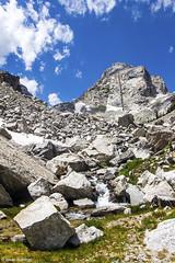 Base of the Mountain (isaac.borrego) Tags: uploadedviaflickrqcom mountains peaks trail grandteton nationalpark wyoming canonrebelt4i water jacksonhole unitedstates america