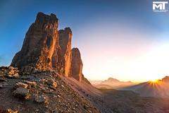 3 cime di Lavaredo (mtamburini1989) Tags: 3 cime lavare trentino alto adige altoadige a7r2 tramonto rosso montagna montagne cielo sony 1635f4 amore lungaesposizione paesaggio sole
